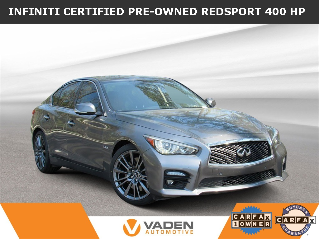 Certified Pre Owned 2016 Infiniti Q50 Red Sport 400